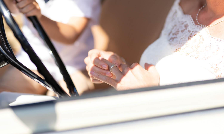 Hochzeit, der Ring
